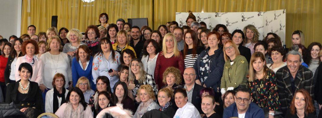 Formación de Farmagan Ibérica y Corpoben con Rita Chiarizia  y Adriano dal Monte.